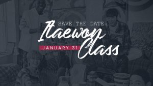 Save The Date: Itaewon Class