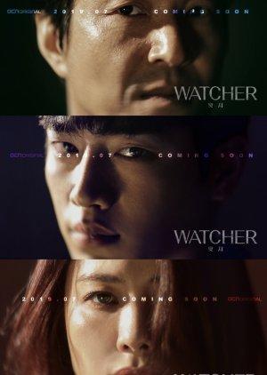 Ánh mắt sắc lạnh, đầy bí ẩn của ba nhân vật