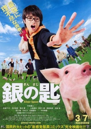 Silver Spoon (2014) poster