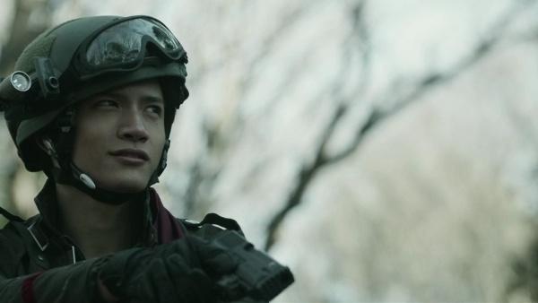 Asahina Hiroshi in Kamen Rider Amazons Japanese Drama (2016)
