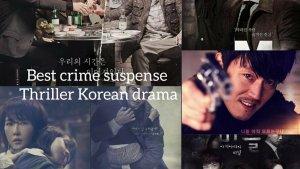 Best Crime-Suspense Thriller Korean Dramas Part 1