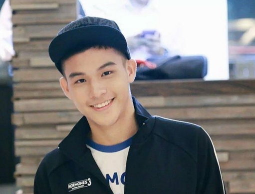 Sky Wongravee Nateetorn in I Hate You, I Love You Thai Drama (2016)