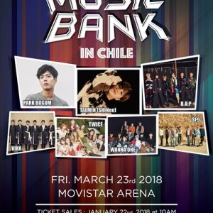 Music Bank in Chile (2018) photo