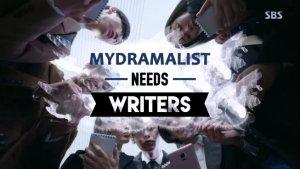 [Apply Inside] MyDramaList Needs Writers & Editors!