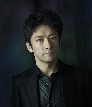 Ishimaru Kanji in Dark Suit Japanese Drama (2014)