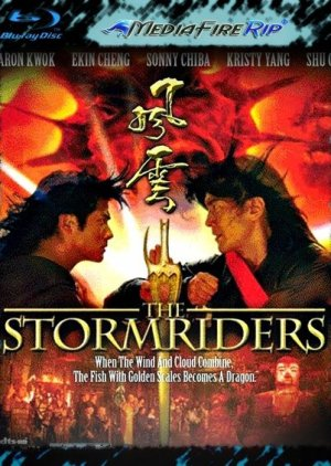 The Storm Riders (1998) poster