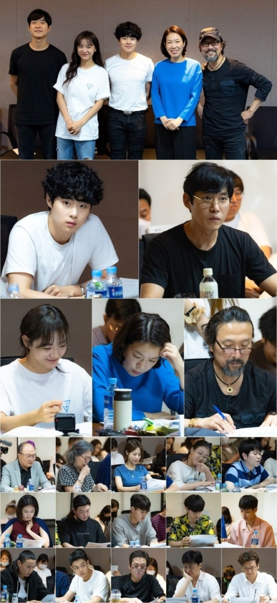 Pembacaan naskah perdana drama Korea The Uncanny Counter