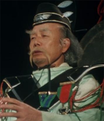 Ueda Chuukou in Ultra Q Japanese Drama (1966)