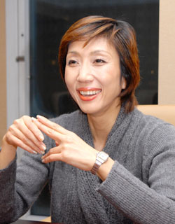 Yamamura Michi in Kodoku no Gurume Japanese Drama (2012)