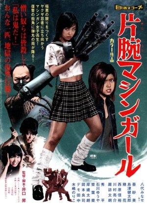 The Machine Girl (2008) poster