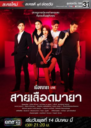 Muang Maya Live The Series: Sai Luerd Maya (2018) poster