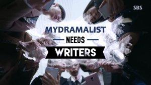 MyDramaList Needs Writers