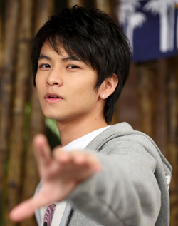 Johnny Yang in I Want To Become A Hard Persimmon Taiwanese Drama (2007)