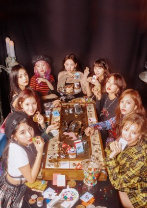 """TWICE TV """"YES or YES"""" (2018) poster"""