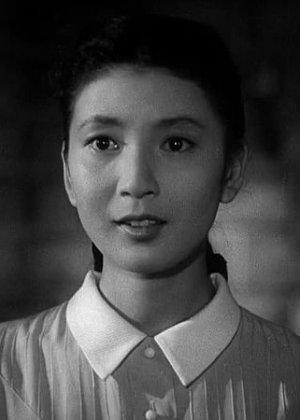 Kochi Momoko in A Rainbow Plays in My Heart Japanese Movie (1957)