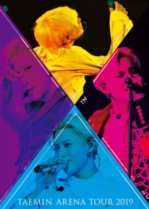 Taemin Arena Tour 2019 - X™ (2019) poster