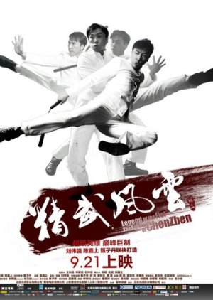Legend of the Fist: The Return of Chen Zhen (2010) poster