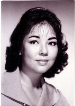 Kyo Machiko in Floating Weeds Japanese Movie (1959)
