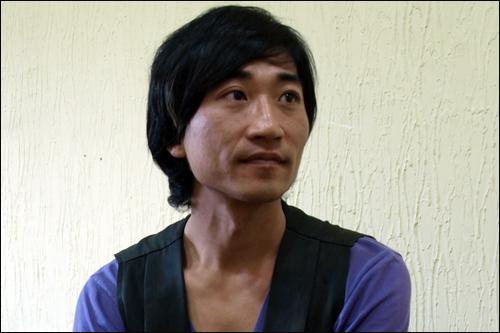 Yang Ji Woong in Shadow Island Korean Movie (2015)