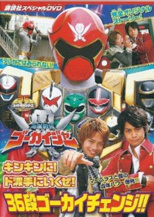 Kaizoku Sentai Goukaiger: Let's Do This Goldenly! Roughly! 36 Round Gokai Change!!