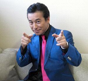 Akasaka Yasuhiko in Hey! Hey! Hey! Music Champ Japanese TV Show (1994)