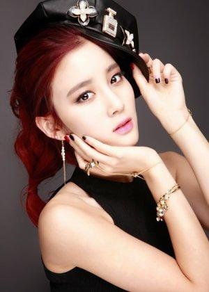 Shin Ji Soo in Black Idols Korean Movie (2015)