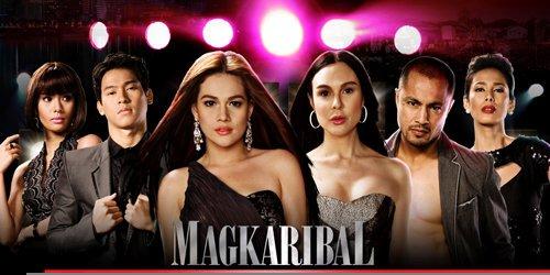 Magkaribal (2010) poster