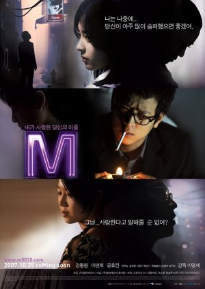 M (2007) poster