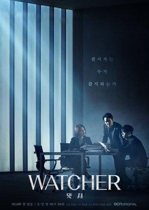 WATCHER (2019) poster