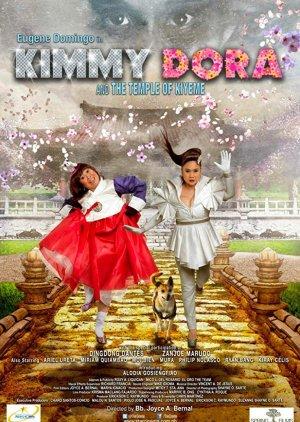 Kimmy Dora and the Temple of Kiyeme (2012) poster
