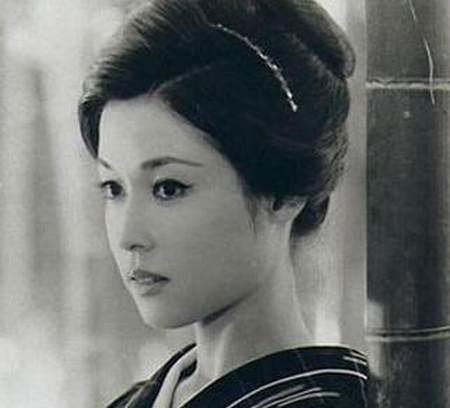 Wakao Ayako in Floating Weeds Japanese Movie (1959)