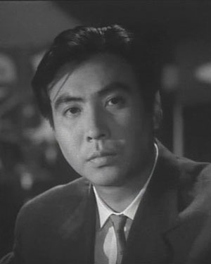 Yanagi Eijiro in The Idiot Japanese Movie (1951)