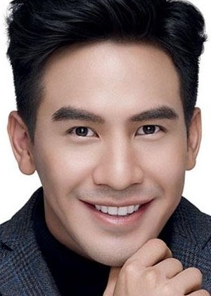Thanawat Wattanaputi in Bpoop Phaeh Saniwaat Thai Drama (2018)