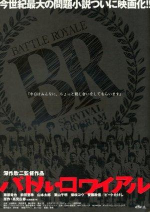 Battle Royale (2000) poster