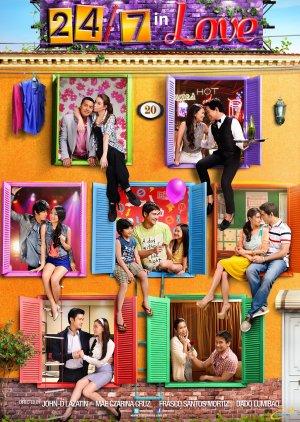 24/7 in love (2012) poster