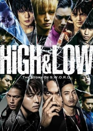 HiGH&LOW (2015) poster