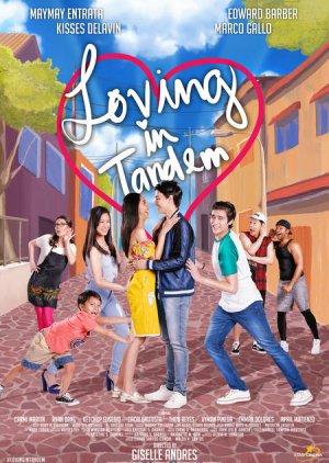 Loving in Tandem (2017) poster