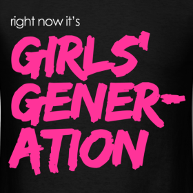 Right Now It's Girls' Generation (2010) poster